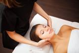 Fototapety Woman having a massage
