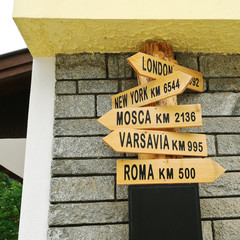 distance indications in Italy