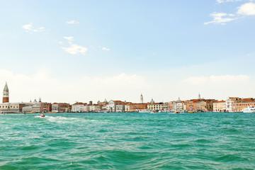 skyline on Venice city, Italy
