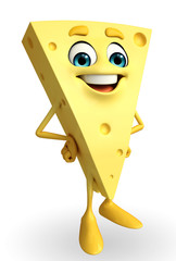 happy Cheese Character