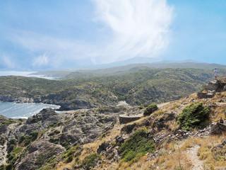 view of Cap de Creus natural park, Spain