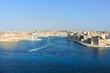 waterfront of Valletta city, Malta