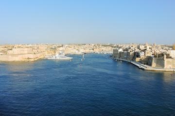 view of Valetta city, Malta