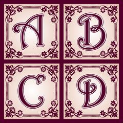 vintage ABC. Part 1