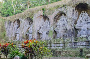 Candi at the Gunung Kawi temple in Bali