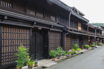 Sanmachi-Suji preserved area in Takayama