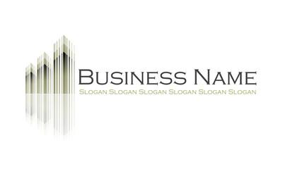 Logo architecte : plan immeuble