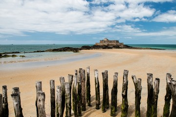 Fort National in Saint-Malo   Bretagne