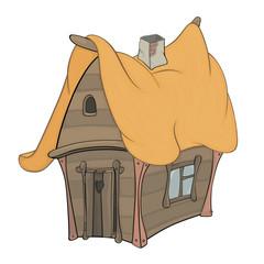 Funny Little House cartoon
