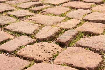 Sandsteine im Boden