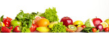 Fruit and vegetable borders © ZoomTeam