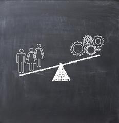 Leverage team or human resources advantage