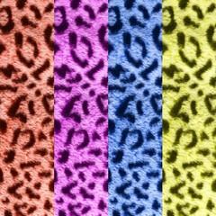 Разноцветные, леопардовые