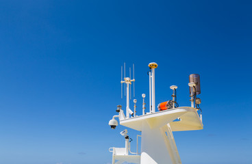 Communication and Security Equipment on Cruise Ship