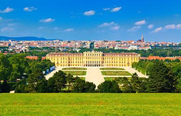 Vienna and Schonbrunn Park