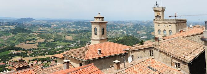 The view from Borgo Maggiore at San Marino