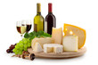 canvas print picture - cheese selection