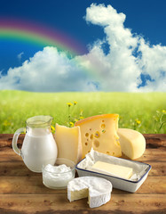 natural dairy products