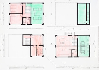 floorplan of modern house