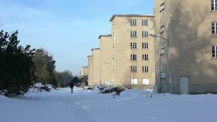 Der Koloss von Prora im Winter