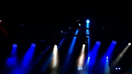 Lights on the concert