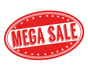 Mega sale stamp