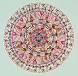 Fototapety colorful mandala design
