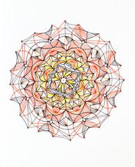 beautiful and complex mandala pattern