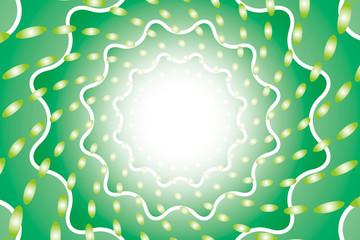 背景素材壁紙(放射と丸い光の輪)