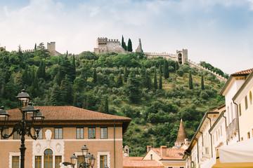 Castello superiore - Marostica Vicenza Italia