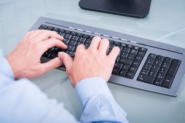 auf der tastatur schreiben
