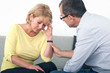 Man apologizing