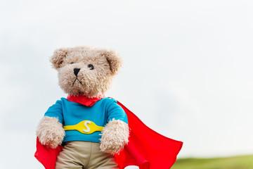 a super hero toy