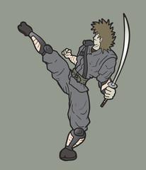 Fight ninja