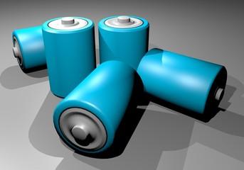 Blue batteries