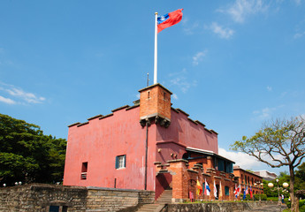 Fort Santo Domingo in Taipei, Taiwan