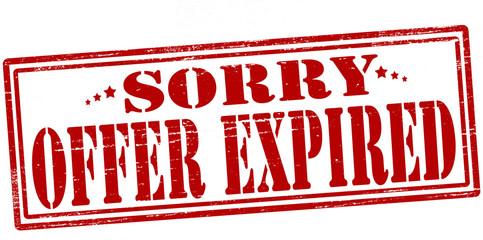 Offer expired
