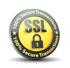 SSL 100% Secure Transactions