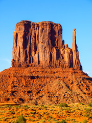 Mitten Butte in Monument Valley