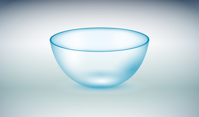 ciotola, vetro, cristallo