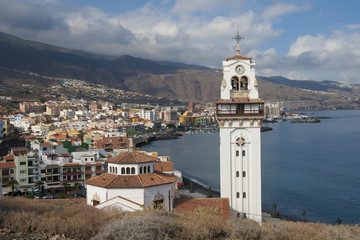 View on Candelaria, Tenerife