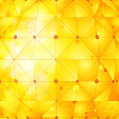 golden network background