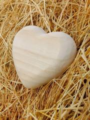 Herz im Stroh