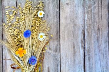 Rustikaler Hintergrund - Getreide