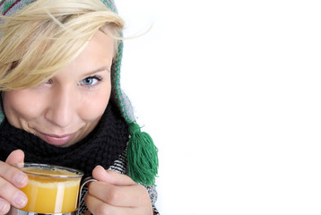 warmes Getränk