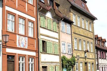 Historische Fassaden in Bamberg