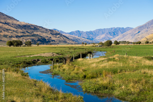 canvas print picture Picturesque landscape
