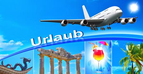 Flugzeug, Urlaub, Urlaubsreise, Urlaubsziele