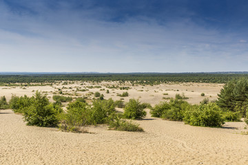 Bledow Desert, in Poland.