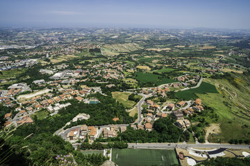 High view from San Marino